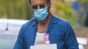 Pinke Kerzen: Ist Jude Law Vater einer Tochter geworden?