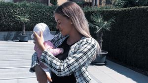 Vier Monate alt: So groß ist Julia Prokopys Tochter schon