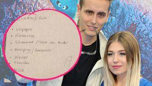 Versauter Freund: Julian malt Bibi besondere Einkaufsliste!