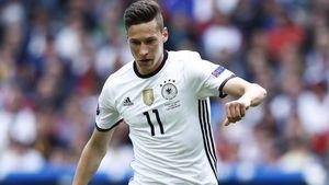 Julian Draxler beim Spiel Deutschland vs Slowakei