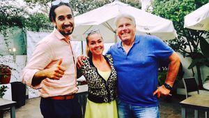 Julio, Rebecca Kratz und Manfred Kratz