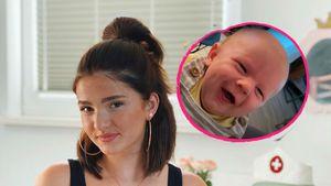 YouTuberin Julita megastolz: Baby Leo lacht zum ersten Mal!