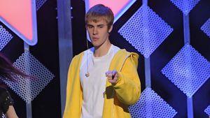 Justin Bieber bei einem Konzert in New York 2016