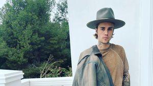 """Ganz ungewohnt: """"Cowboy"""" Justin Bieber im schicken Date-Look"""