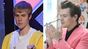 Justin Bieber und Harry Styles
