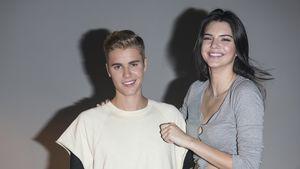 "Justin Bieber und Kendall Jenner beim ""Calvin Klein Jeans""-Event in Hong Kong"