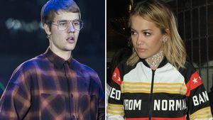 Justin Bieber und Rita Ora