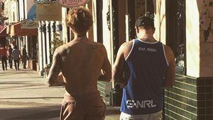 Süße Liebeserklärung: Justin total gerührt über Papa Biebs