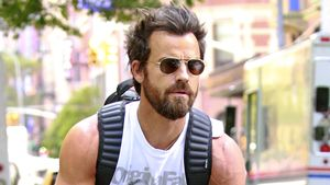 Mega-Muckies: Justin Theroux zeigt gestählte Oberarme