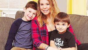 """""""Teen Mom""""-Star Kailyn Lowry mit ihren Söhnen"""