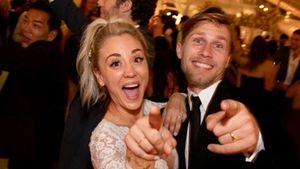 Einen Monat nach der Hochzeit: Kaley Cuoco megahappy!