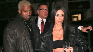 Kanye West und Kim Kardashian in New York