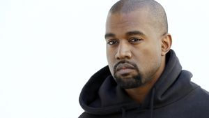 "Kanye West bei der ""Paris Fashion Week"""