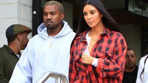 Kanye West und Kim Kardashian in Calabasas
