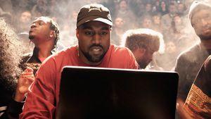 Kanye West bei der Modenschau seiner dritten Yeezy-Kollektion in New York 2016
