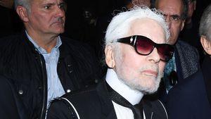 Imagewandel? Designer Karl Lagerfeld trägt jetzt einen Bart!