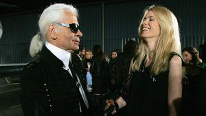 """Claudia Schiffer: """"Karl Lagerfeld war Andy Warhol der Mode"""""""
