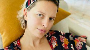 Kurz nach der Geburt: Karolina Kurkova teilt ein Still-Foto