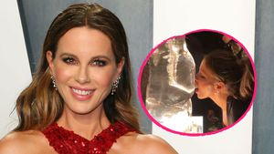 Wie bitte? Kate Beckinsale schlürft Tequila aus eisigem Popo