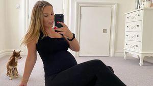Rückenprobleme: Schwangere Kate Ferdinand kann kaum stehen