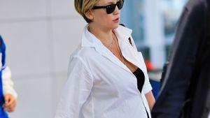 Es wird ernst: Hochschwangere Kate Hudson geht in Baby-Pause