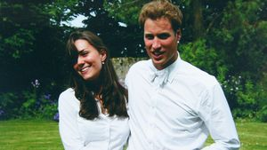Kate und William während ihrer Abschlussfeier an der Universität Saint Andrews in Schottland