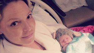 Katherine Heigl mit Baby Joshua