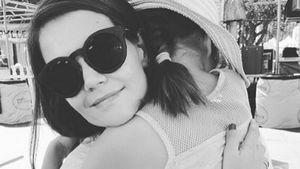 Wertvolle Zeit: Süßes Kuschelfoto von Katie Holmes & Suri