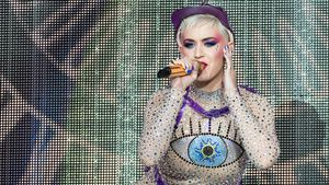Katy Perry beim Glastonbury Festival 2017