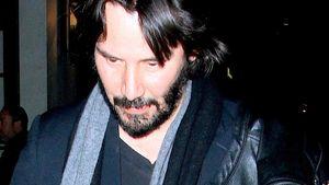 Keanu Reeves mit unbekannter Blondine gesichtet