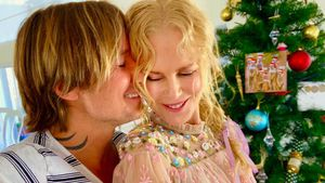 Keith Urban & Nicole Kidman teilen seltene Xmas-Paar-Fotos