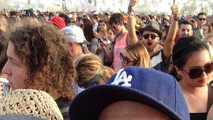 Coachella-Paar: Von 2(!) Megastars gephotobombt