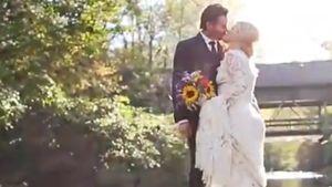 Brandon Blackstock und Kelly Clarkson bei ihrer Hochzeit