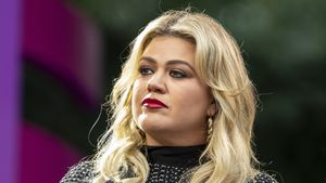Talk über postnatale Depression: Kelly Clarkson weint im TV