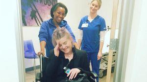 Pechvogel Kelly Osbourne: Mit gebrochenem Fuß ins neue Jahr!