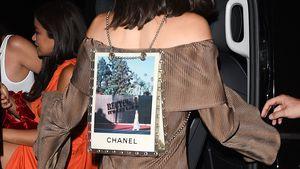 Lebendige Werbetafel: Kendall Jenner macht Rucksack-Tour!