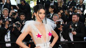 Wieder Nippel-Alarm in Cannes: Kendall liebt's durchsichtig!