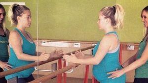 So hält Kendra Wilkinson ihren Baby-Bauch in Form