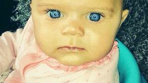 Blue Eyes! Zu wem gehört denn dieser süße Fratz?