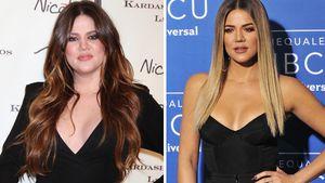 Khloe Kardashian 2011 und 2017