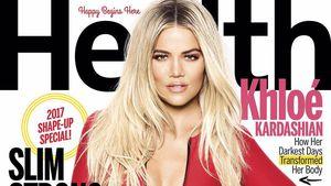"Khloe Kardashian auf dem Cover des ""Health Magazine"""