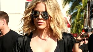 "Khloe Kardashian beim Dreh von ""Keeping up with the Kardashians"" am Rodeo Drive in Beverly Hills"