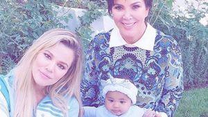 So süß gratulieren die Kardashians Baby True zum Geburtstag