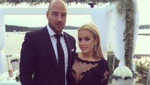 Kim Gloss und ihr Freund Alexander bei Sila Sahins Hochzeit