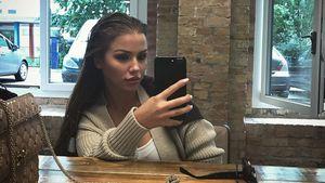 Kim Gloss beim Friseur