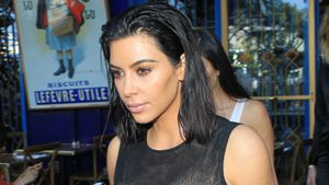 Kim Kardashian im Little Door Restaurant in West Hollywood