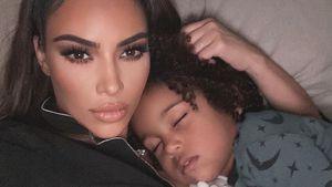 """Kim Kardashian bekam """"Heiratsantrag"""" von Söhnchen Saint"""