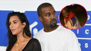 Im Familienurlaub: Hier tanzen Kanye West und Tochter North