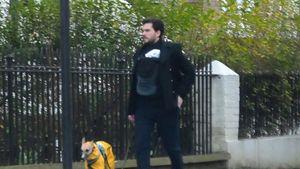Nach Geburt: Kit Harington geht mit seinem Baby spazieren