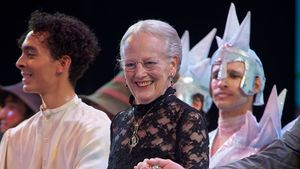 "Flott! Dänische Queen mittendrin bei ""Schneekönigin""-Show"